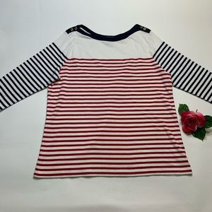 Lauren Ralph Lauren Womens 3X 4th of July Sweater